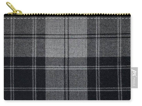 Douglas Grey Modern Tartan - Carry-All Pouch