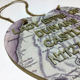 Dunans at Heart: A Personalised Decoupage Heart - Scottish Laird