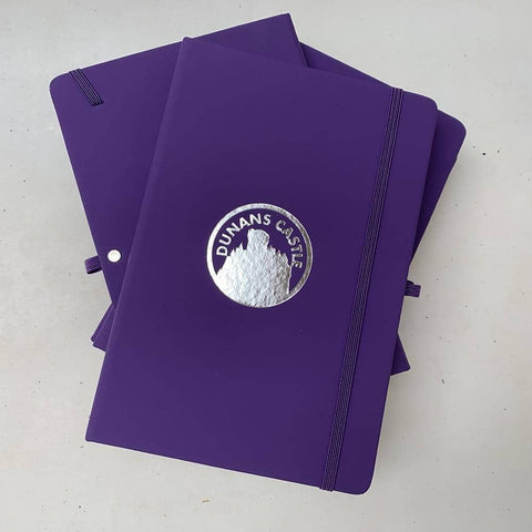 Dunans Castle Embossed A5 Notepad - Scottish Laird