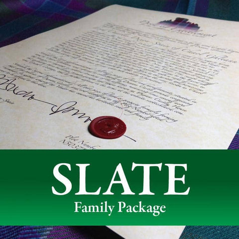 Dunans Castle Family Package (Slate) - Scottish Laird