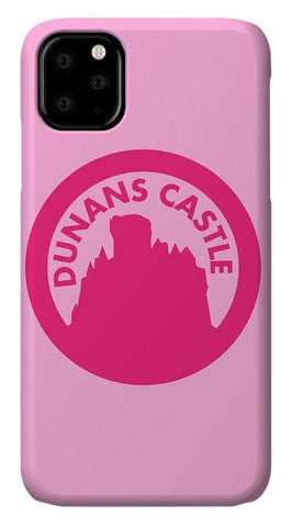 Dunans Castle Pink Logo - Phone Case