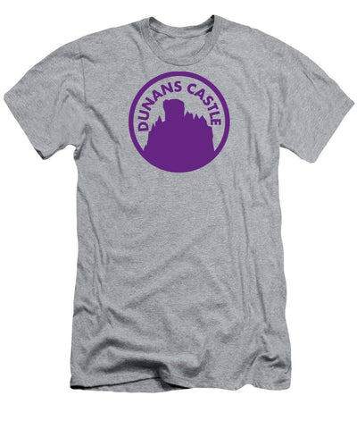 Dunans Castle Purple Logo - Men's T-Shirt (Athletic Fit)
