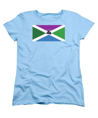 Dunans Flag - Women's T-Shirt (Standard Fit)