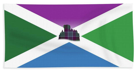 Dunans Flag - Beach Towel
