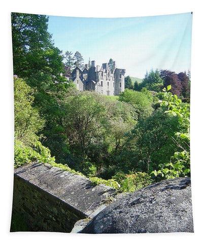 Dunans From Bridge - Tapestry - Scottish Laird