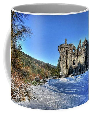 Dunans In Snow - Mug - Scottish Laird