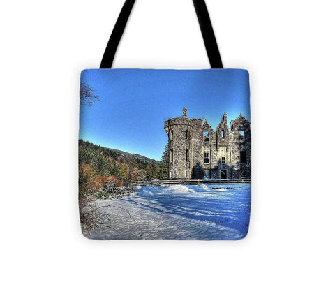 Dunans In Snow - Tote Bag - Scottish Laird