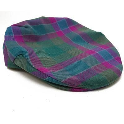 Dunans Rising Tartan Classic Sports Cap - Scottish Laird