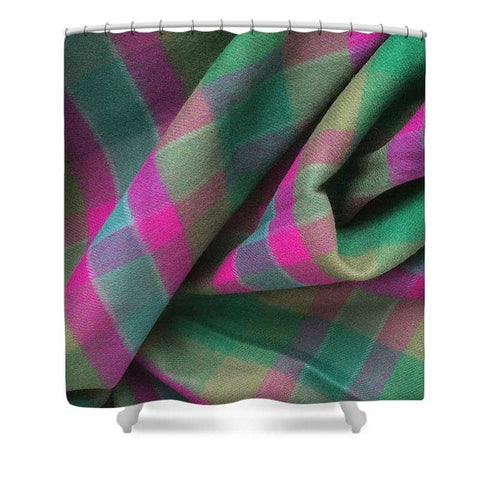 Dunans Rising Tartan - Shower Curtain - Scottish Laird