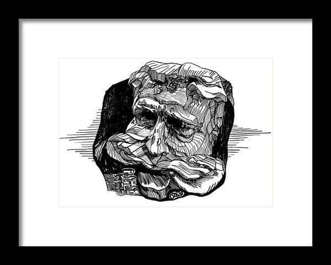 Eastmost Gargoyle - Framed Print