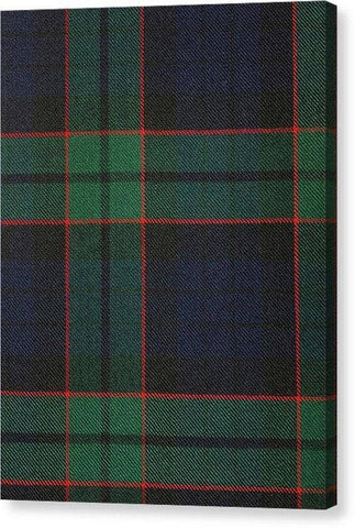 Fletcher Modern Tartan Swatch - Canvas Print