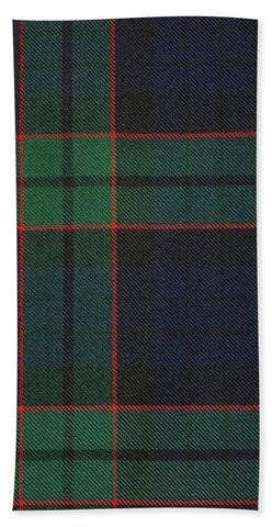 Fletcher Modern Tartan Swatch - Beach Towel