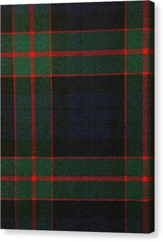Fletcher Of Dunans Modern Tartan Swatch - Canvas Print
