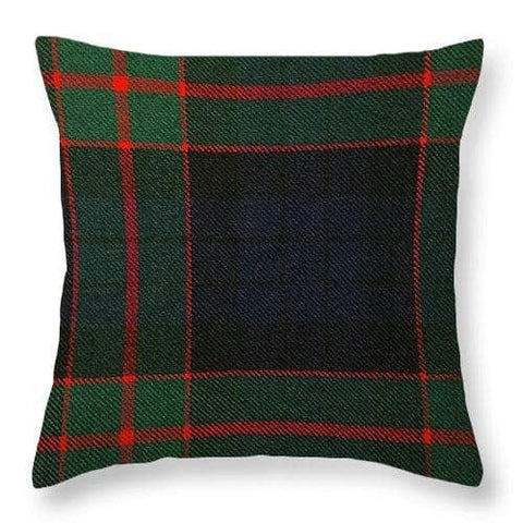 Fletcher Of Dunans Modern Tartan Swatch - Throw Pillow