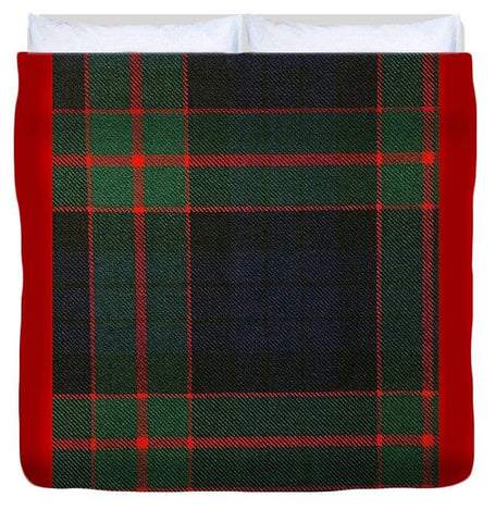 Fletcher Of Dunans Modern Tartan Swatch - Duvet Cover