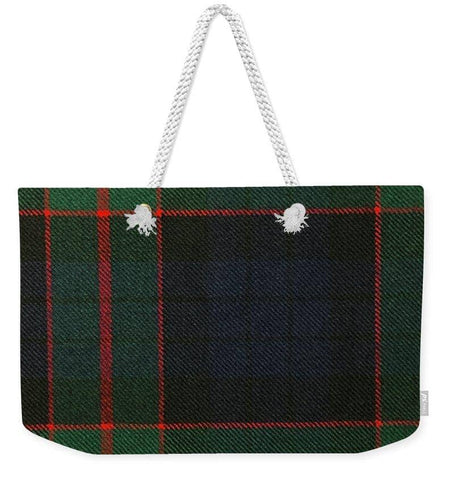 Fletcher Of Dunans Modern Tartan Swatch - Weekender Tote Bag