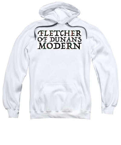 Fletcher Of Dunans Modern Tartan Words - Sweatshirt