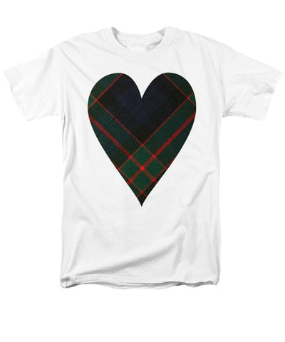 Fletcher Of Dunans Tartan Heart - Men's T-Shirt  (Regular Fit)