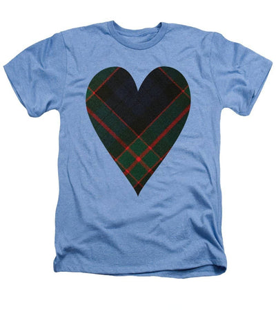 Fletcher Of Dunans Tartan Heart - Heathers T-Shirt