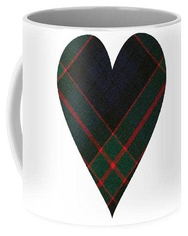 Fletcher Of Dunans Tartan Heart - Mug