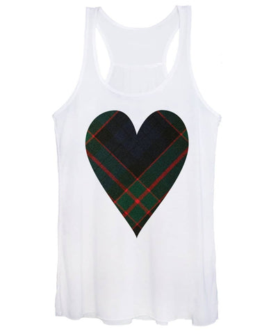 Fletcher Of Dunans Tartan Heart - Women's Tank Top