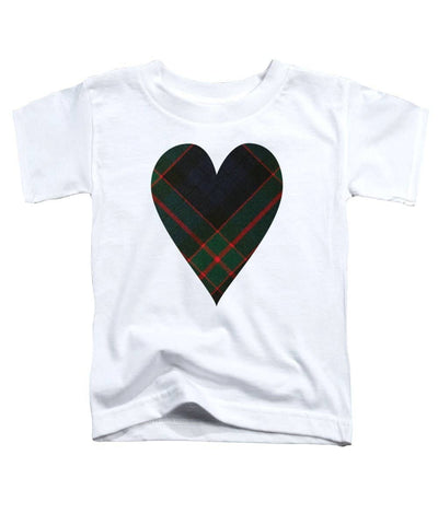 Fletcher Of Dunans Tartan Heart - Toddler T-Shirt