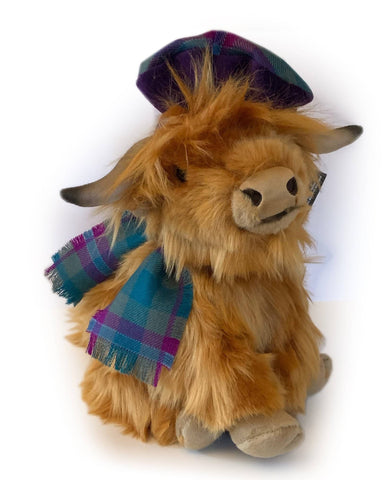 Fletcher, the Highland Coo - Scottish Laird