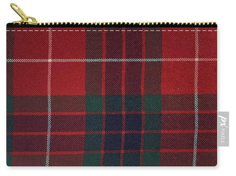 Frazer Red Modern Tartan - Carry-All Pouch