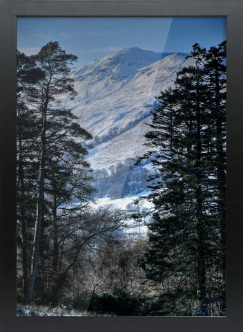 Glendaruel Winter - Framed A3 Bamboo Print - Scottish Laird