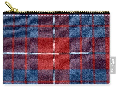Hamilton Red Tartan - Carry-All Pouch