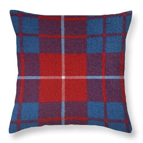 Hamilton Red Tartan - Throw Pillow
