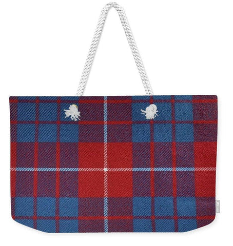 Hamilton Red Tartan - Weekender Tote Bag