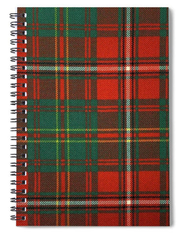 Hay Ancient Tartan Swatch - Spiral Notebook