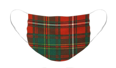 Hay Ancient Tartan Swatch - Face Mask