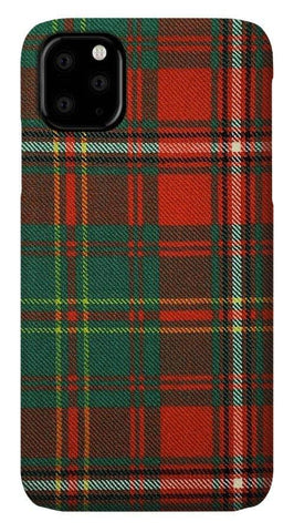 Hay Ancient Tartan Swatch - Phone Case
