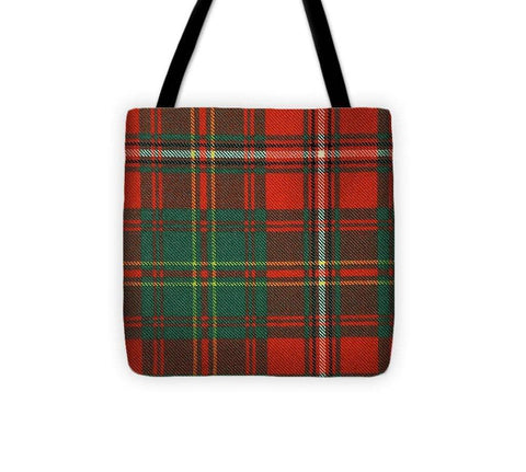 Hay Ancient Tartan Swatch - Tote Bag