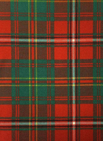 Hay Ancient Tartan Swatch - Art Print