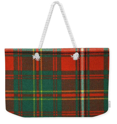 Hay Ancient Tartan Swatch - Weekender Tote Bag