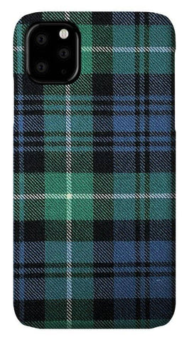 Lamont Ancient Tartan Swatch - Phone Case