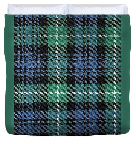 Lamont Ancient Tartan Swatch - Duvet Cover
