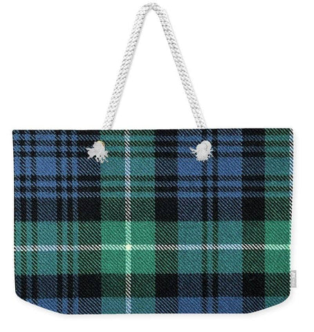 Lamont Ancient Tartan Swatch - Weekender Tote Bag