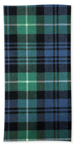 Lamont Ancient Tartan Swatch - Beach Towel