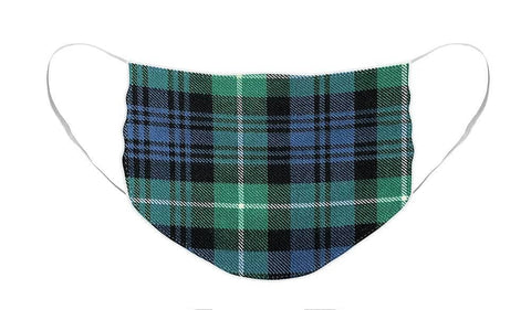 Lamont Ancient Tartan Swatch - Face Mask