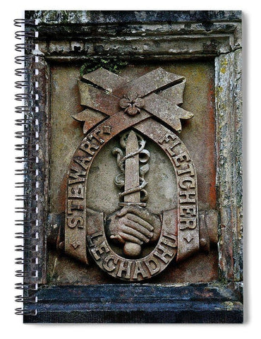 Lechadhu - Spiral Notebook - Scottish Laird