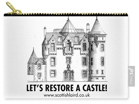 Let's Restore A Castle - Carry-All Pouch - Scottish Laird