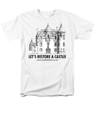 Let's Restore A Castle - Men's T-Shirt (Regular Fit) - Scottish Laird