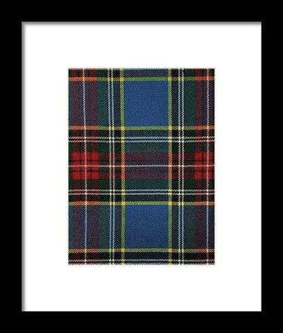 Macbeth Modern Swatch - Framed Print