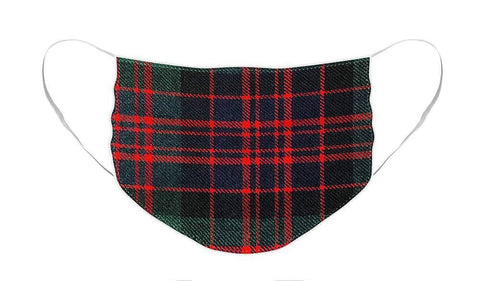 MacDonald Modern Tartan Swatch - Face Mask