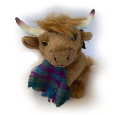 MacGregor, the Wee Highland Coo - Scottish Laird