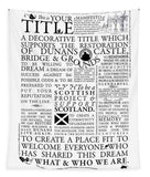 Manifesto - Tapestry - Scottish Laird
